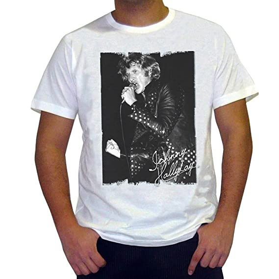 One In The City Johnny Hallyday Men S T Shirt Picture Celebrity