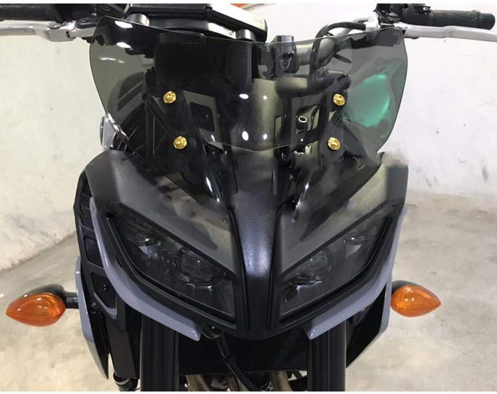 GUAIMI Deflettore vento moto Parabrezza motocicletta per Yamaha MT-09 2017-2020 FZ-09 2017-2020 MT-09 SP 2018-2020