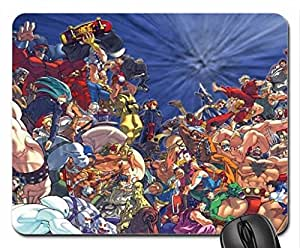 Video Game Characters Mouse Pad, Mousepad (10.2 x 8.3 x 0.12 inches)