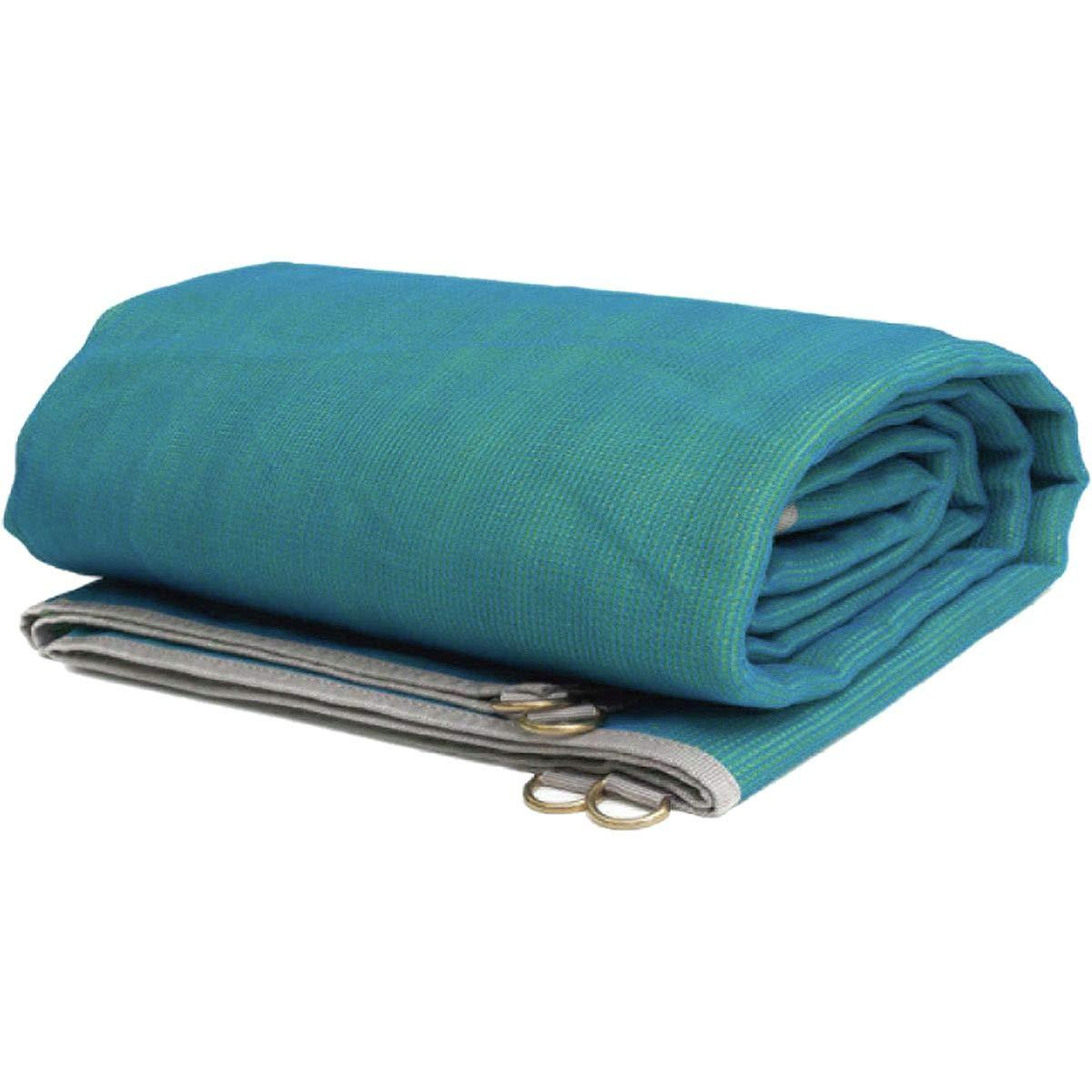 CGear The Mat - Sand-Free Outdoor Camping Mat, Blue/Green, 6' x 6'