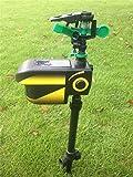 77tech® Yard Enforcer Motion Activated Sprinkler with Solar Sensor Housing