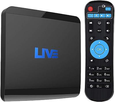 4 K IPTV Receptor Box más de 1600 Canales internacionales de ...