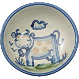 Cereal Bowl, Cow Pattern