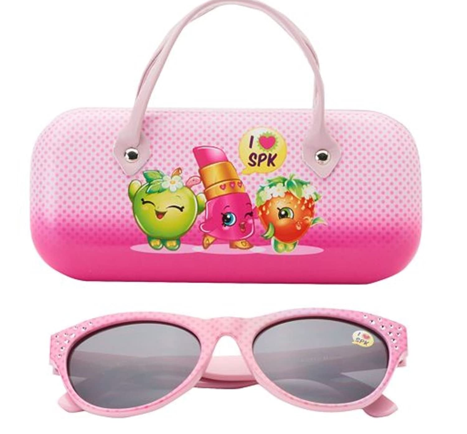 Girls Shopkins Sunglasses & Case