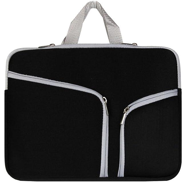 36c97af3e0d8 Amazon.com: Supamoden Neoprene Laptop Sleeves Double Pockets Laptop ...