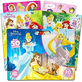 Amazon.com: Disney Princess Coloring Book Super Set -- 2 Coloring ...