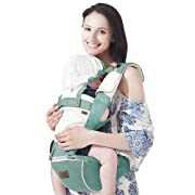 Bebamour New Style Designer Sling and Baby Carrier 2 in 1,Green