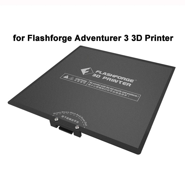 1pc 170MM Heated Bed Flex Build Plate Sticker Kit Replacement for Flashforge Adventurer 3 3D Printer