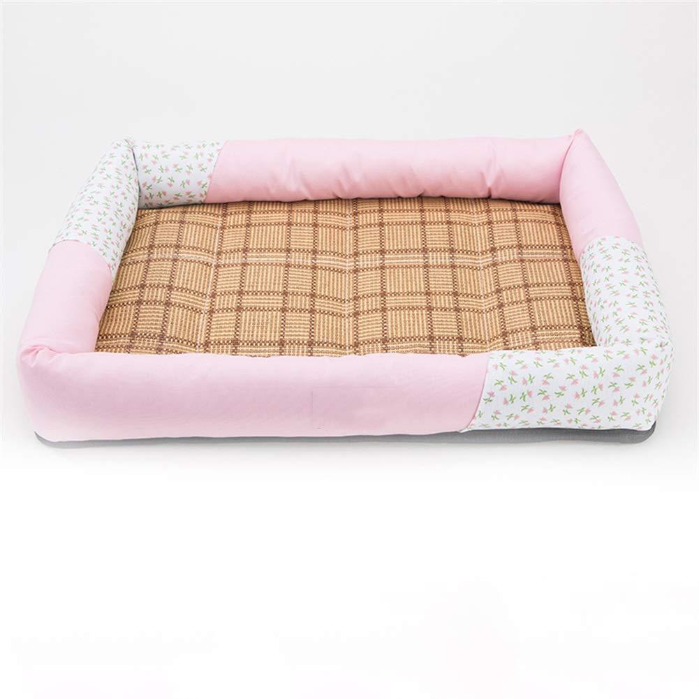 8 L 8 L Dog Bed, Soft Warm Pet Bed Puppy Dog Mat Pad Cat Sleeping Cushion Pet Sofa Dog House Pet Nest (color   8, Size   L)