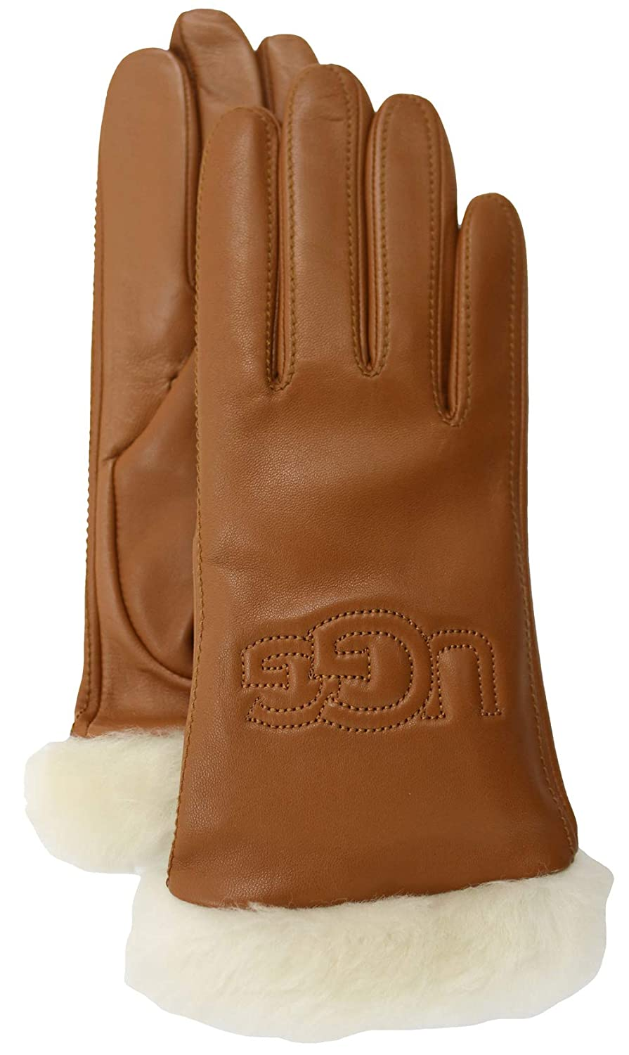 addae5b2226 UGG Womens Classic Leather Logo Glove