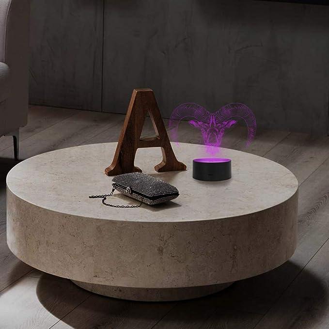 Tier Wohnzimmer Meer Angler Dekoration Elbeffekt 3D LED Deko