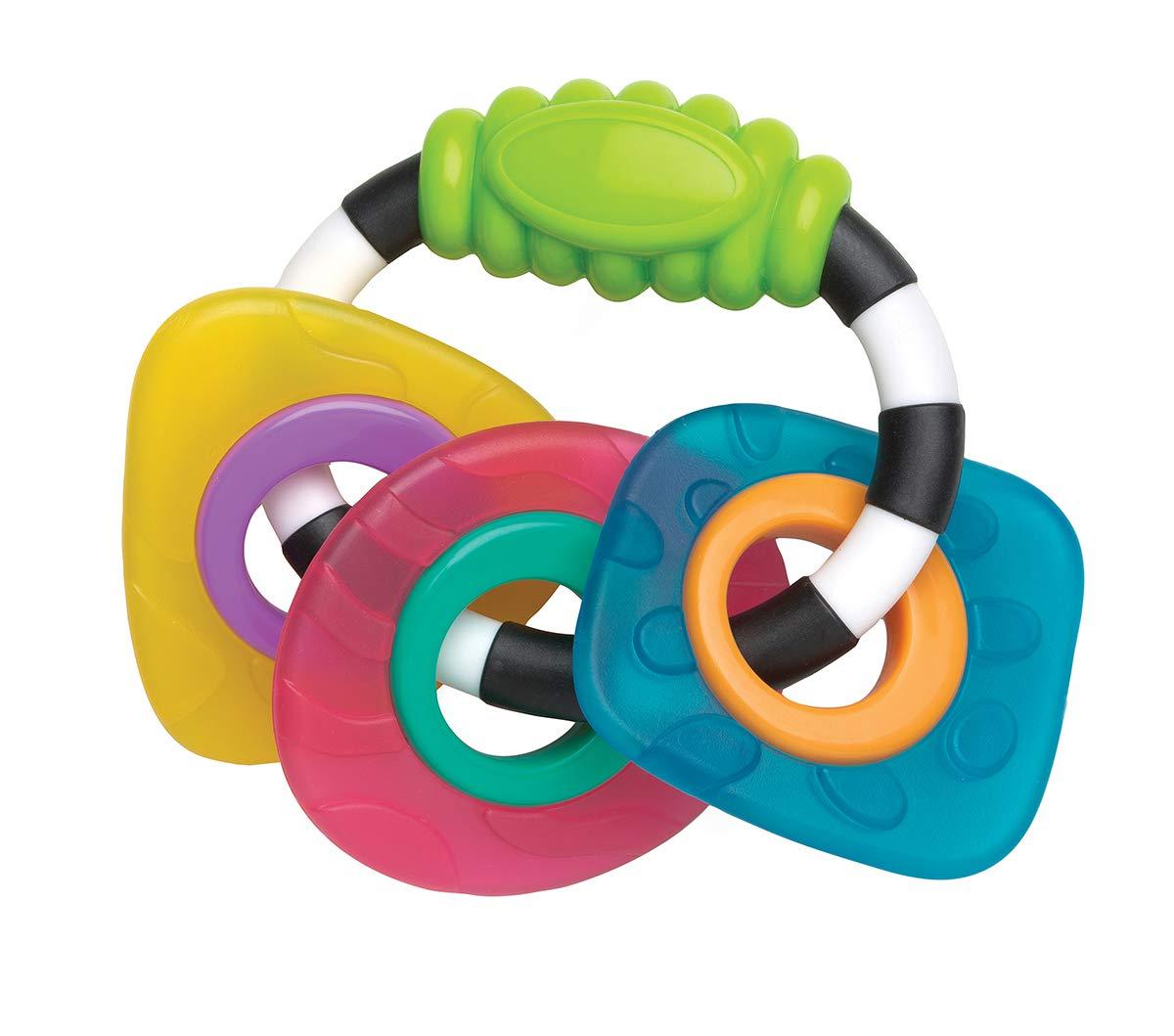Playgro Anneaux de Dentition Abeille Lot de 2 Remplis dEau Multicolore /À partir de 3 mois 40200