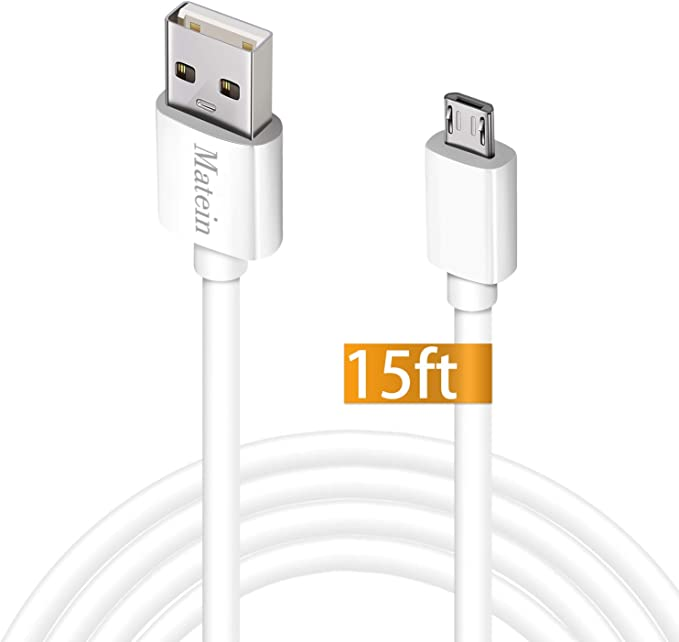 FYL 3.5mm Car AUX Audio USB Micro B Cable Charger For Samsung Galaxy S5 Note 3 Black