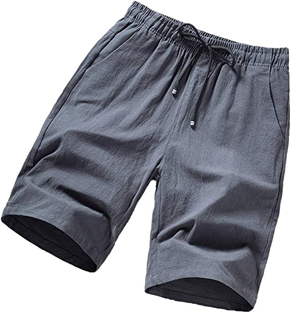 Big Quick Dry Workout Shorts WEI MOLO for Mens Lightweight Athletic Running Beach Shorts with Drawstring