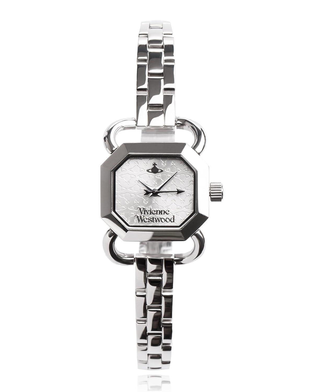 Vivienne Westwood Damen-Armbanduhr Ravenscourt Analog Quarz Edelstahl VV085SLSL