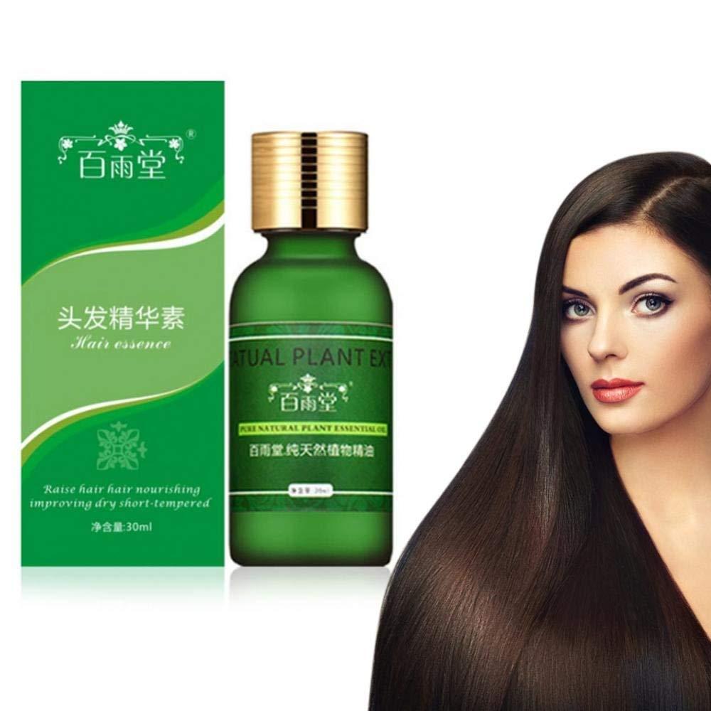 Aceite natural de la esencia del crecimiento del pelo de los hombres y de las mujeres, líquido de la reparación de la salud del cuero cabelludo del ginseng para la pérdida de pelo Yotown
