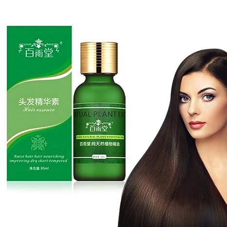 Aceite natural de la esencia del crecimiento del pelo de los hombres y de las mujeres
