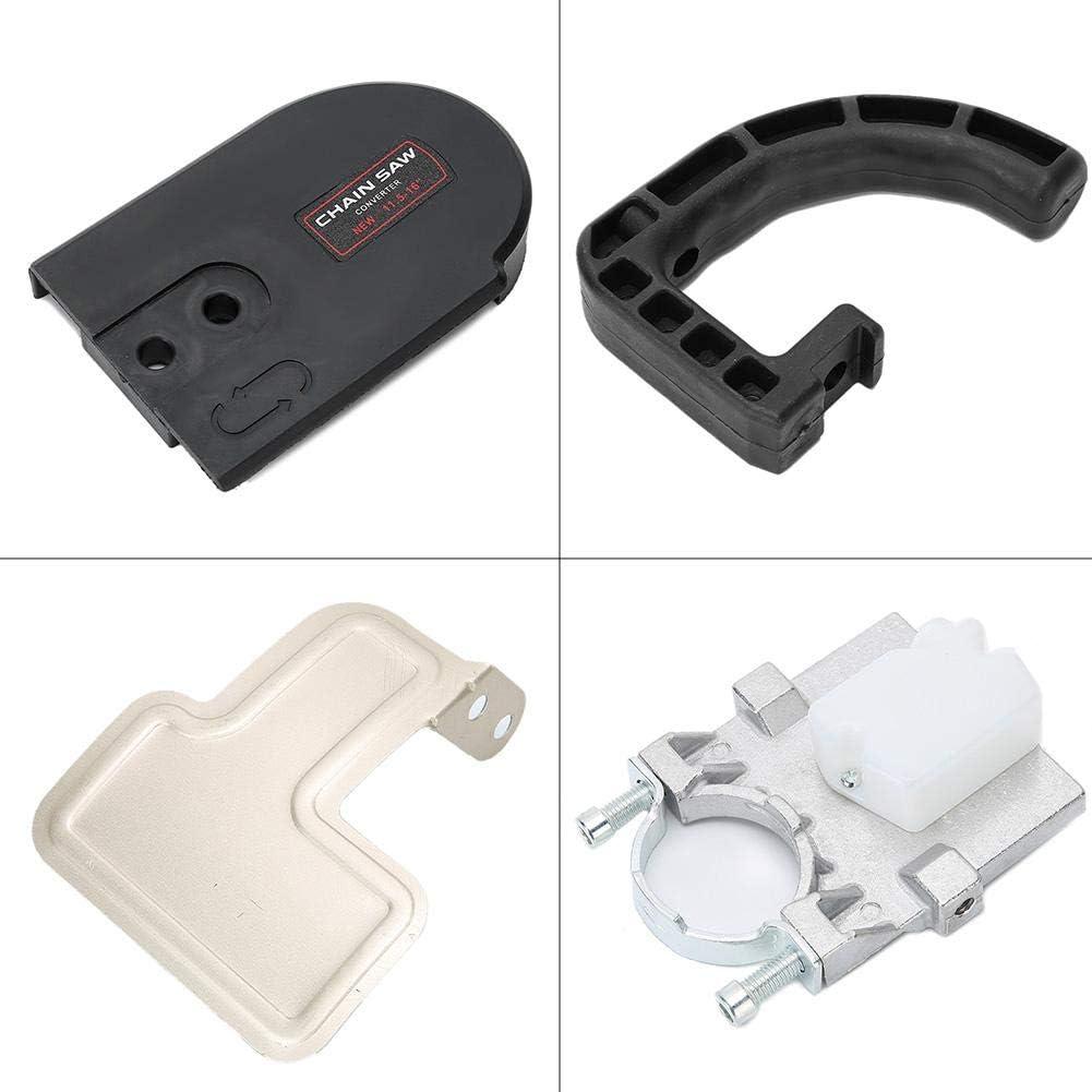 Cikonielf Juego Adaptadores Convertidor Motosierra 11.5 Pulgadas Sierra Cadena Amoladora Angular para Sierra Cadena Herramienta para Trabajar Madera