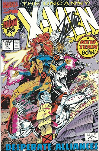 Stan Lee Signed The Uncanny X-Men Marvel Comic Book COA Issue #281 1991 - PSA/DNA Certified from HollywoodMemorabilia