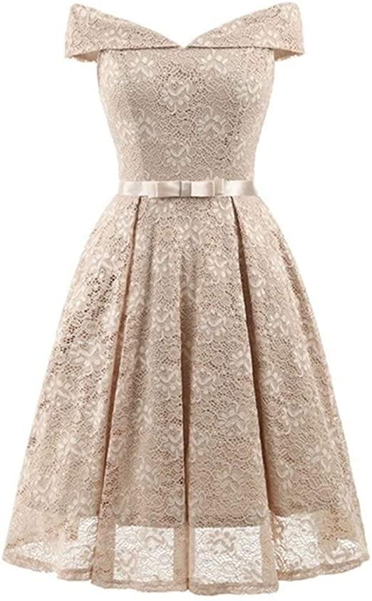 Xiaochongshan Floral Lace Retro Robe Vintage Rockabilly Plus Size Party Dress Prom Homecoming Dresses 2020 In Stock New Cocktail Dresses Color Khaki Us Size 18w Amazon Ca Home Kitchen