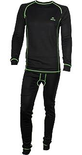 7b9158ee6d2327 Viking Herren Set Funktionsunterwäsche Ryan Thermoaktiv Atmungsaktiv  Skiunterwäsche - Ski - Snowboard - Langlauf grün Gr