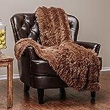 Chanasya Super Soft Long Shaggy Chic Fuzzy Fur Faux Fur Warm...