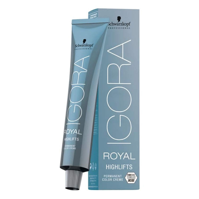 Schwarzkopf Igora Royal Highlifts 10-1 Blonde Platinum Ash Hair Color 60ml