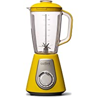 Liquidificador Cellini Super Blender 1000W - 4 Velocidades - 127V (Amarelo e Prata)