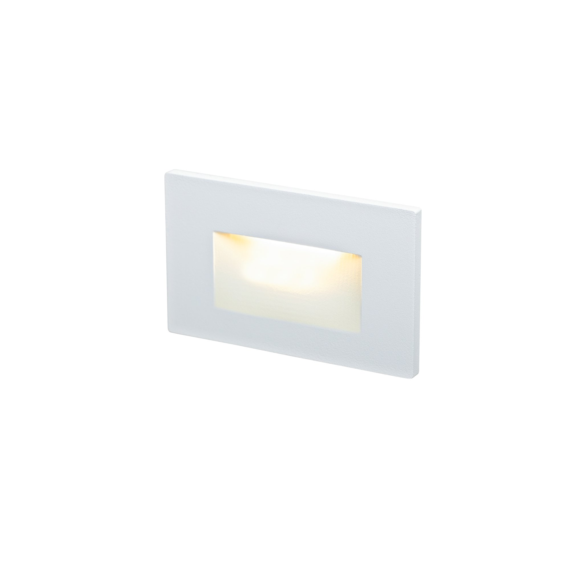 DALS Lighting LEDSTEP005D-WH 4.75'' Recessed Horizontal Indoor/Outdoor LED Step Light, White