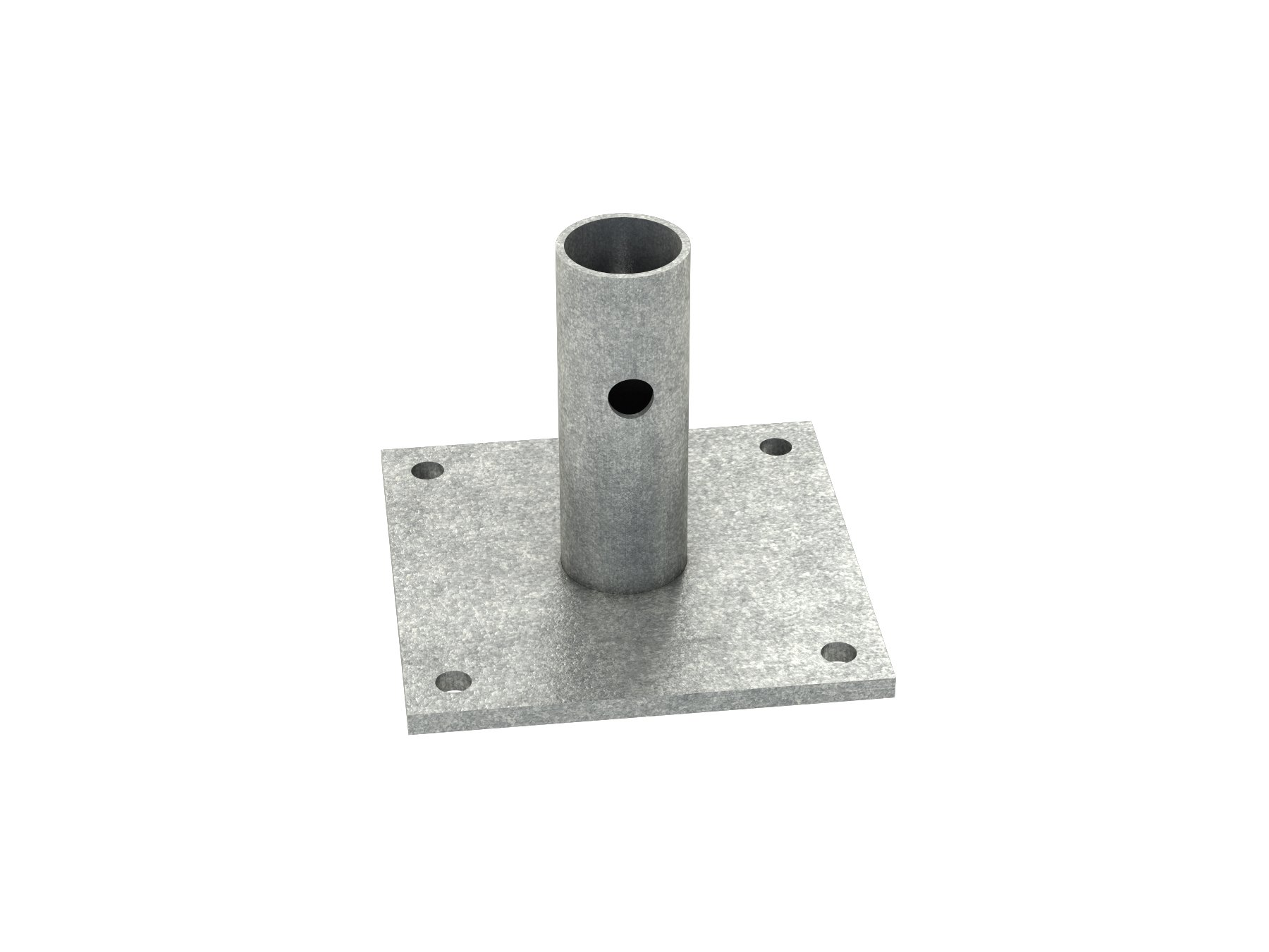 Bon 14-284 6-Inch by 6-Inch Scaffold Base Plate