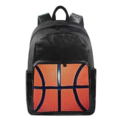 DOSHINE Mochila Impermeable, diseño de balón de Baloncesto ...