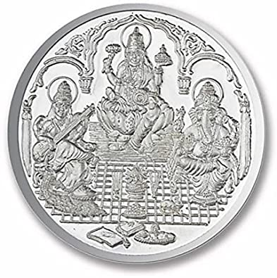 Buy Shree Shobha Collection Silver Coin for Gift- Made of