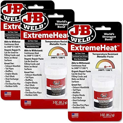J-B Weld 37901 Extreme Heat High Temperature Resistant Metallic Paste (3)