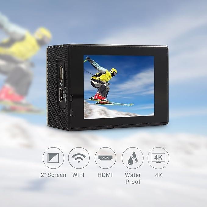 Topjoy F60 16 MP 4 K Ultra HD 1080P Deportes Acción cámara ...