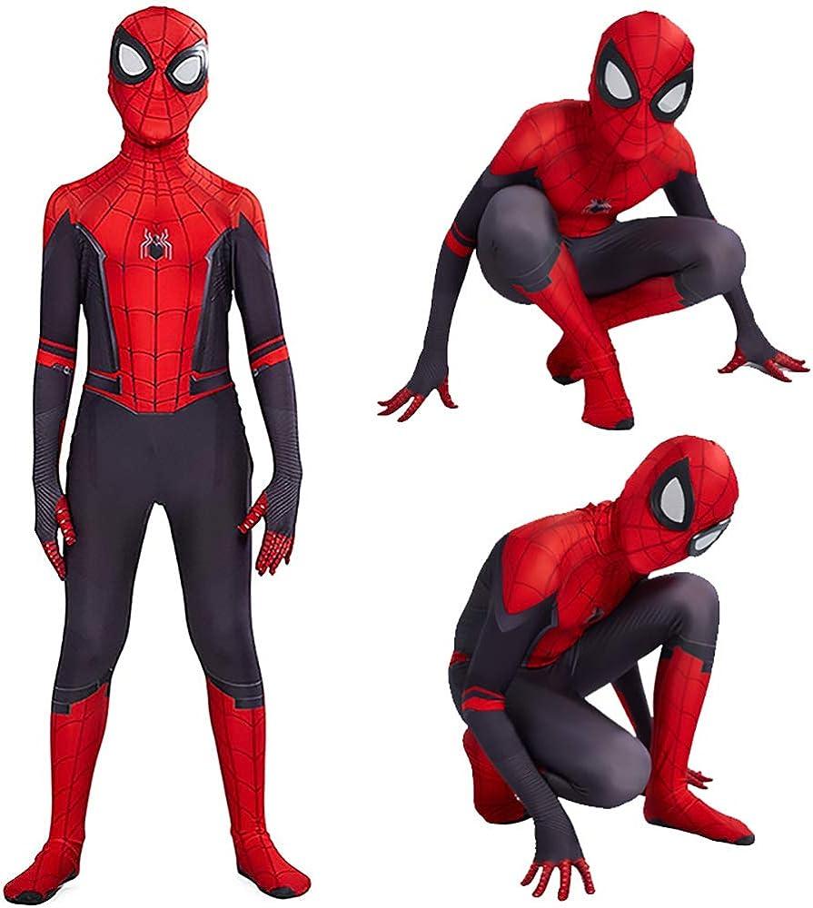 Halloween Superhero Costume Cosplay Bodysuit Jumpsuit Zentai Onesies Spandex for Boys 3D Style