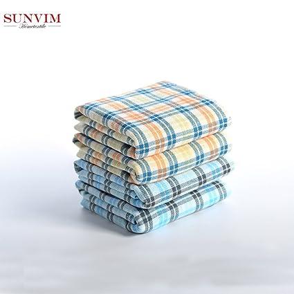 SeeParts SUNVIM - Toalla de algodón para pareja (100% algodón, muy suave y