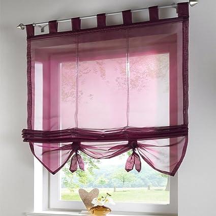 SIMPVALE tende finestra interna in stile romano pura cucina ...