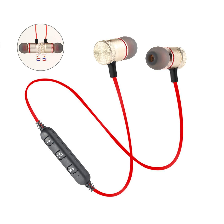 Auriculares inalámbricos Teepao I7S TWS, con Bluetooth, mini, versión 4.2 EDR, para iPhone 7/7Plus 6/6S Plus 8, Android, Samsung, HTC, con funda de carga: ...