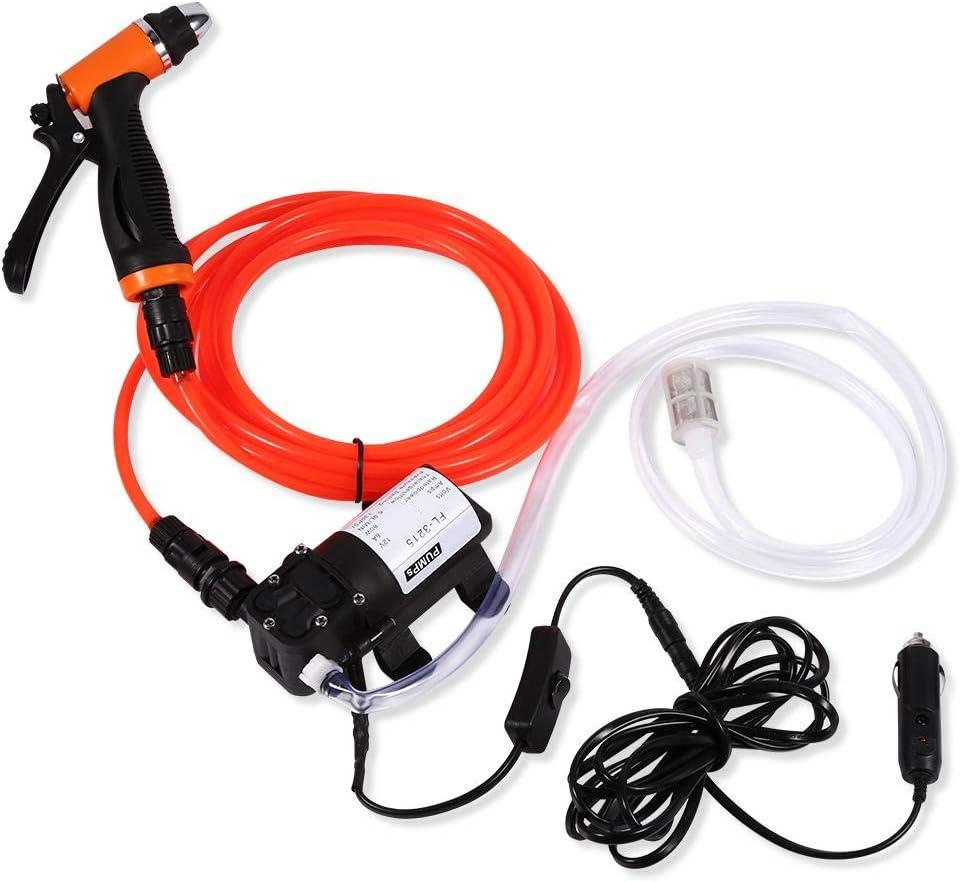 Kit di rondella elettrica 12V Pompa di acqua elettrica autoadescante ad alta pressione portatile autoadescante Kit di rondella elettrica ecologica