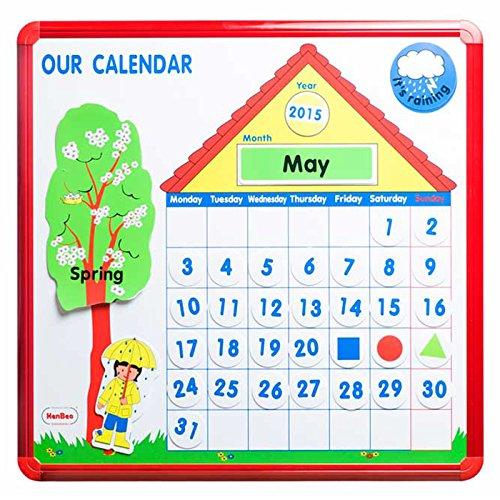 Henbea 759/A Magnetic Calendar in German by Henbea (Image #1)