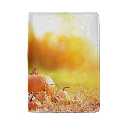 Calabazas Velas Hojas secas de otoño Bloqueo de impresión ...