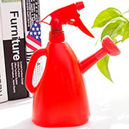 Woopower Botella de riego, 400 ml de plástico Mano pulverizador a presión jardinería Rociador herramienta