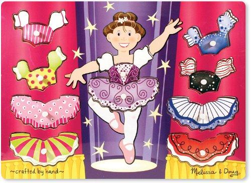 - WMU Ballerina Dress-Up Mix n Match Peg