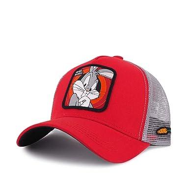 Capslab, Gorra de béisbol Looney Tunes Bugs Bunny Baseball Hat Red ...