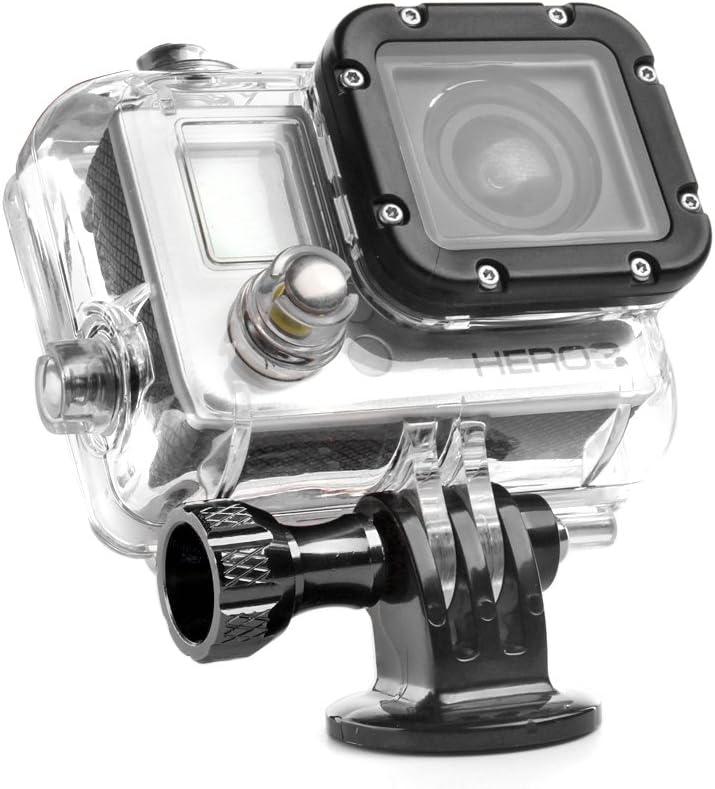 4 CNC Aluminum Thumb Knob Stainless Bolt Nut Screw for GoPro Hero 2 3 3