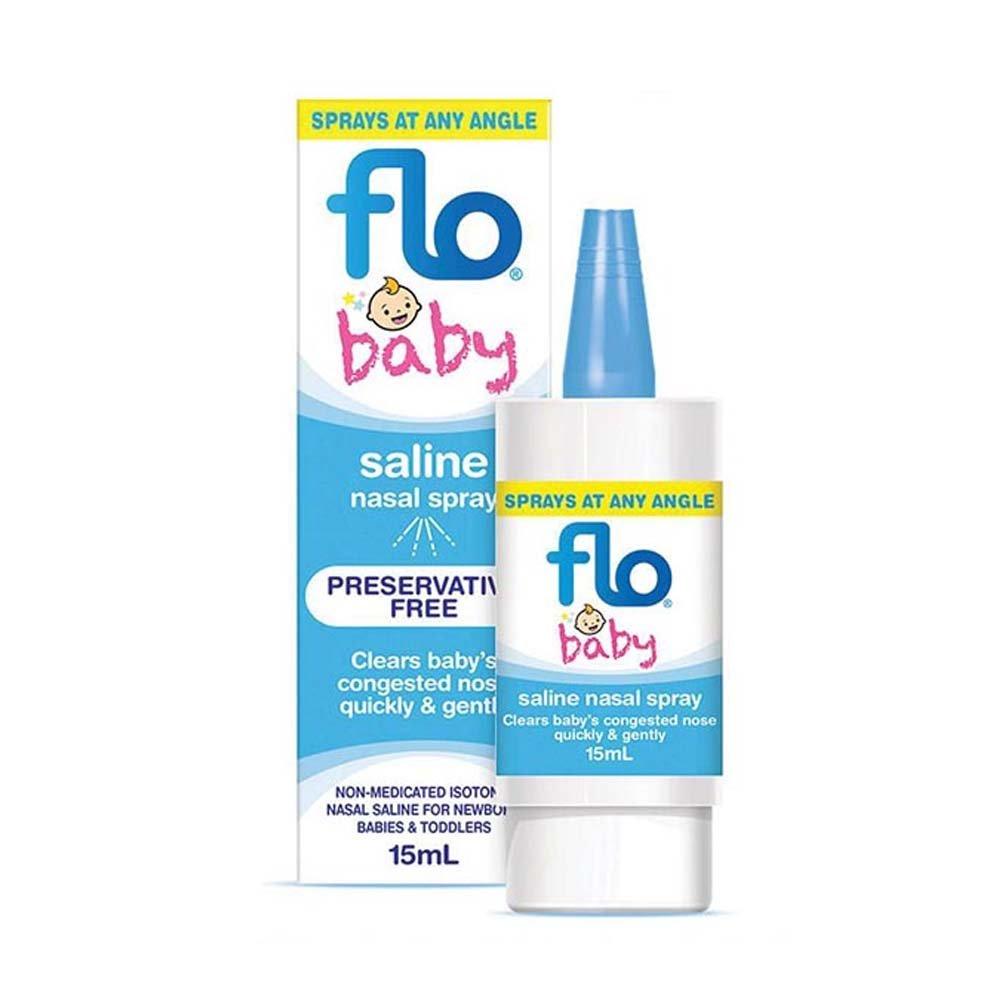 Flo Baby Saline Spray 15ml ENT Technologies