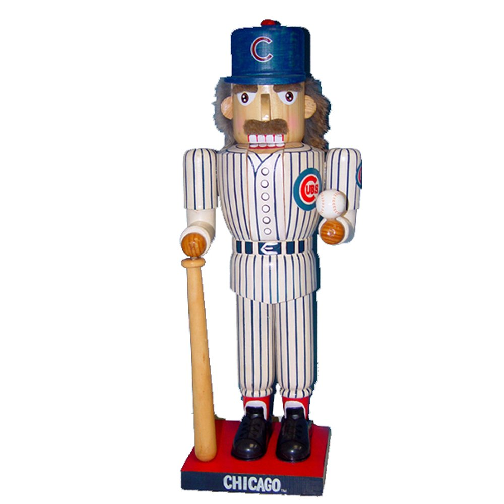 Chicago Cubs Kurt Adler 14-Inch Baseball Player Nutcracker