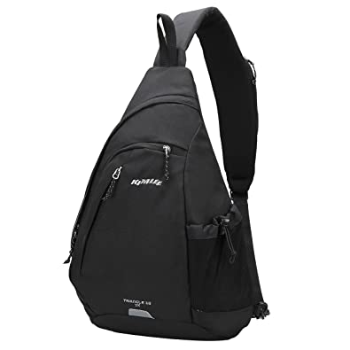 Kimlee Sling Backpack Sling Bag Small Crossbody Daypack Casual Shoulder  Triangle Backpack Chest Bag Rucksack for Men   Women Outdoor Cycling Hiking  Travel ... c9ef1e792339f