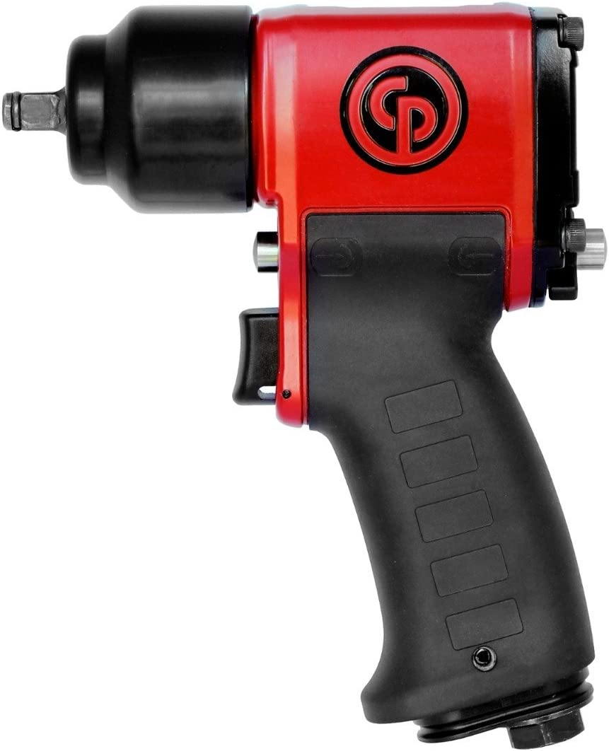 with 10 to 55 ft.-lb. Torque Range, 9-13//16 Chicago Pneumatic CP7829 Heavy Duty Air Ratchet Wrench Non-Carb Compliant
