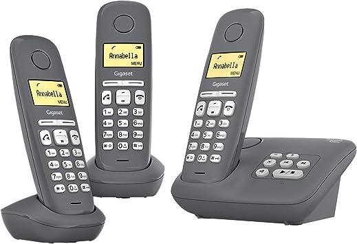 Gigaset A280a Trio 3 Schnurlose Telefone Mit Elektronik